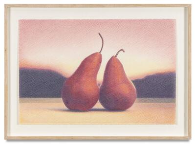 Martha Alf, 'Two Bosque Pears, Venice Beach', 1995-96
