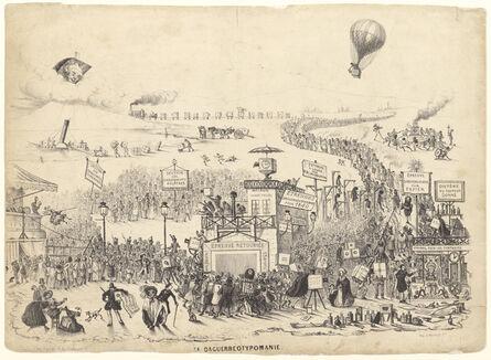 Théodore Maurisset, 'La Daguerreotypomanie (Daguerreotypomania)', December 1839