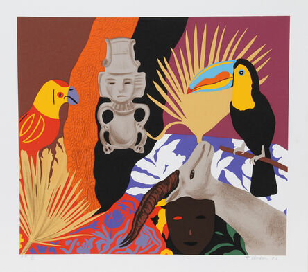 Hunt Slonem, 'Managua #1', 1980