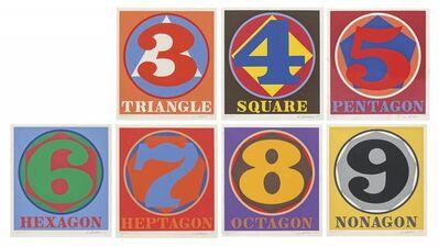 Robert Indiana, 'Polygons', 1975