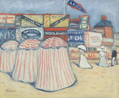Albert Marquet, 'The Beach at Trouville', ca. 1906