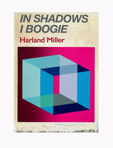 Harland Miller, 'In Shadows I Boogie (Red)', 2019