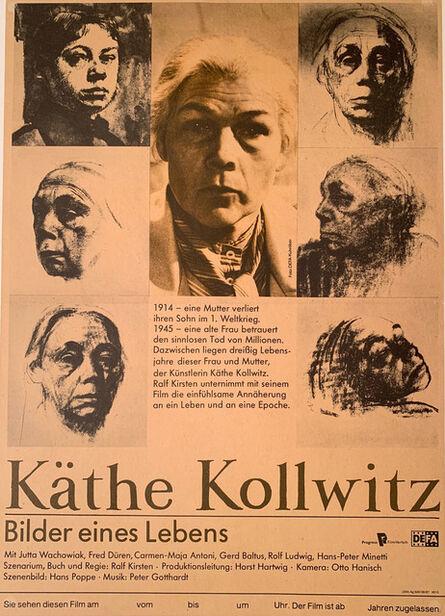 Käthe Kollwitz, 'Kathe Kollwitz, Bilder eines Lebens (Pictures of a Life) Poster, Gallery Poster ', 1987