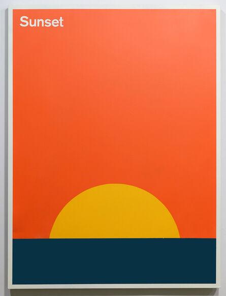 Julian Montague, 'Sunset', 2015