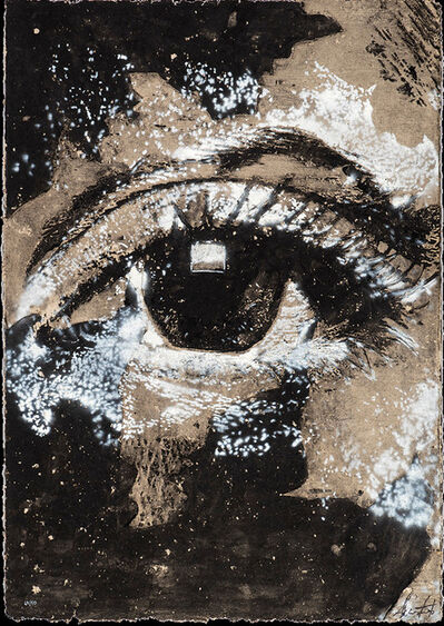 Vhils, 'Decal', 2021