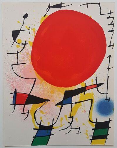 Joan Miró, 'Litografia Original III', 1975