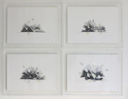 Giulio Paolini, 'QuattroillustrazioniperL'arteelospazio', 1983-2009