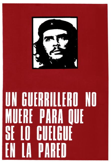 Roberto Jacoby, 'Un guerrillero no muere para que se lo cuelgue en la pared (A Guerrilla Does Not Die to Be Hanged on a Wall).', First print 1969-reprint 2011