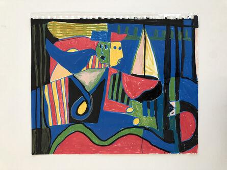 Taj Matumbi, 'Crossing the Delaware River', 2020
