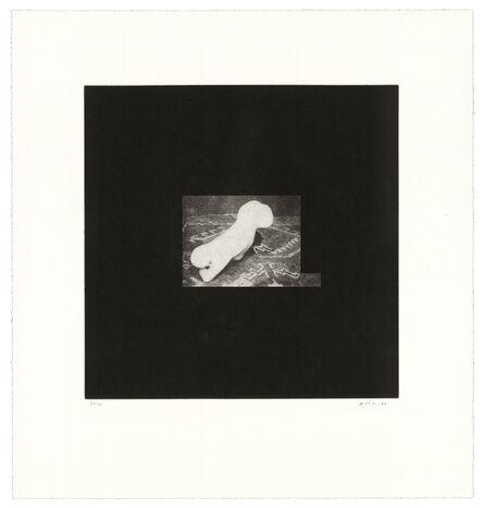 David Lynch, 'Distorted Nude Photogravure #9', 2021