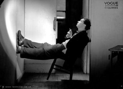 Lee Miller, 'Dylan Thomas, Vogue Studio, London, England', 1946