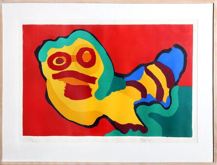 Karel Appel, 'Untitled - Caterpillar II', 1974