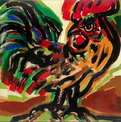 Chen Haiyan 陈海燕, 'Rooster No. 3 鸡系列No. 3', 2011