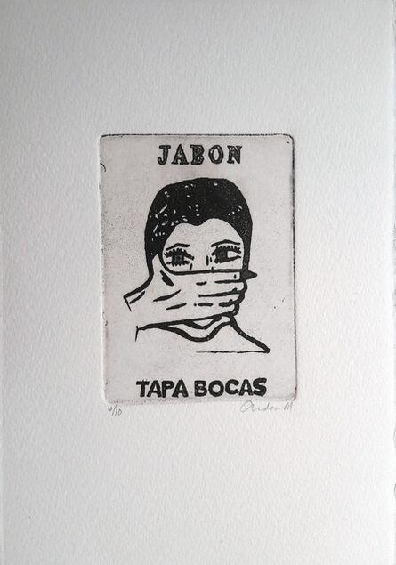 ANDREA MÁRMOL, 'Jabón tapa bocas', 2016-2017