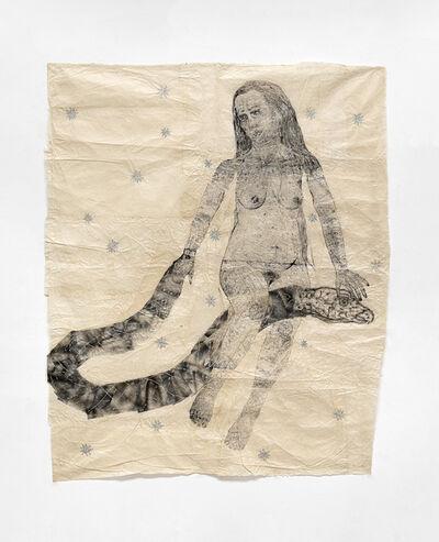 Kiki Smith, 'Woman on Snake', 2010
