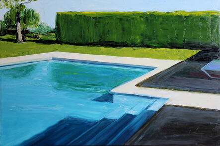 Jennifer Beedon Snow, 'Alan's Pool', 2015