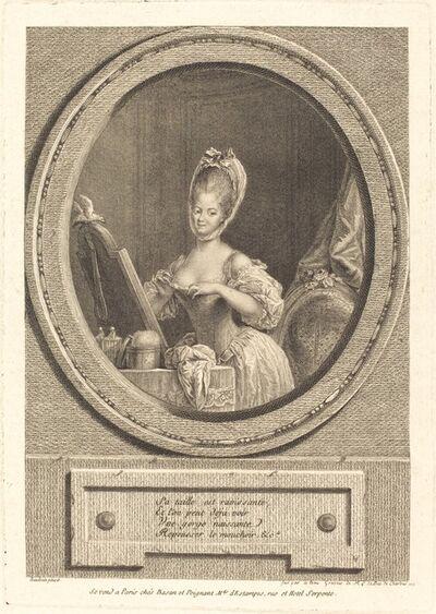Pierre Adrien Le Beau after Pierre-Antoine Baudouin, 'Sa taille est ravissante', 1776