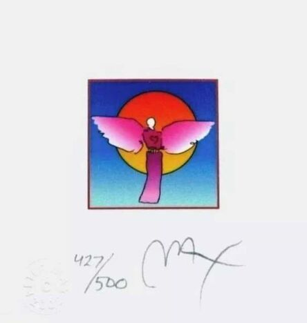 Peter Max, 'Angel with Saturn ', 2003