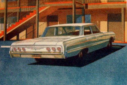 Robert Bechtle, ''64 Impala', 1973