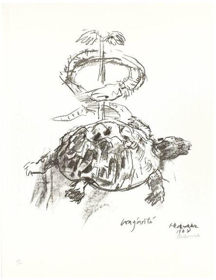 Oskar Kokoschka, 'Longévité', 1968