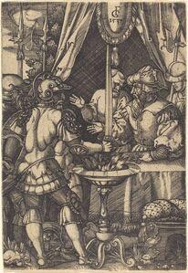 Master FG, 'Mutius Scaevola', 1537