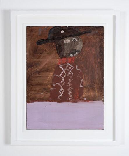 Chris Ofili, 'Pink Baffoon', 1991