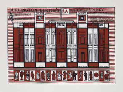 Adam Dant, 'Burlington Bertie's Shove Ha'penny', 2016
