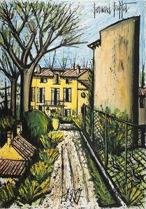 Bernard Buffet, 'La Baume la maison vue des pigeonniers', 1997