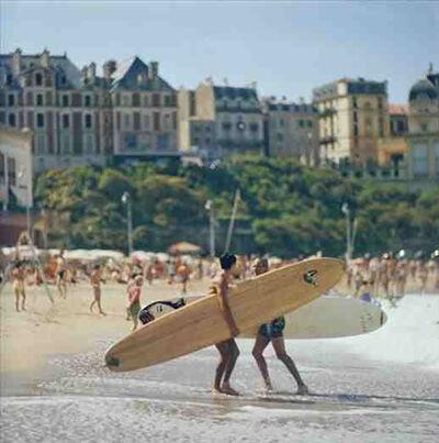 Slim Aarons, 'Peter Viertel on the Beach', 1960