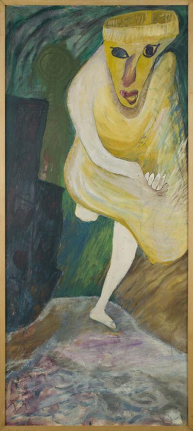 Jon Serl, 'Woman Chasing Purse Snatcher', n.d.