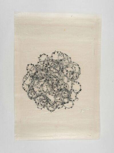 Azade Köker, 'Stacheldraht 1', 2017