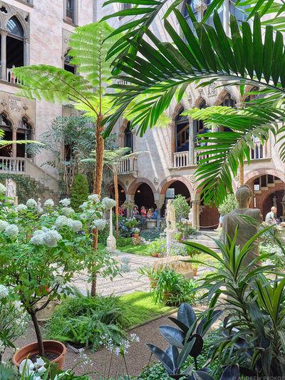 Andrew Prokos, 'Courtyard View #2, Isabella Stewart Gardner Museum', 2021