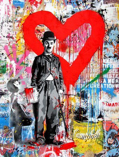 Mr. Brainwash, 'Chaplin', 2017