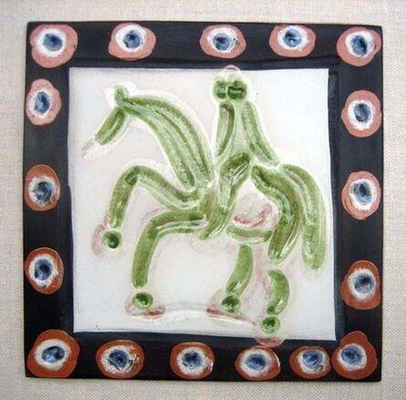 Pablo Picasso, 'Cavalier & Horse', 1968