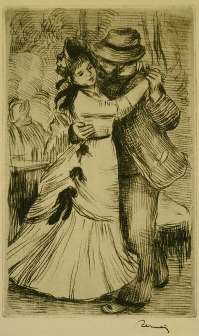 Pierre-Auguste Renoir, 'The Dance in the Country', ca. 1890