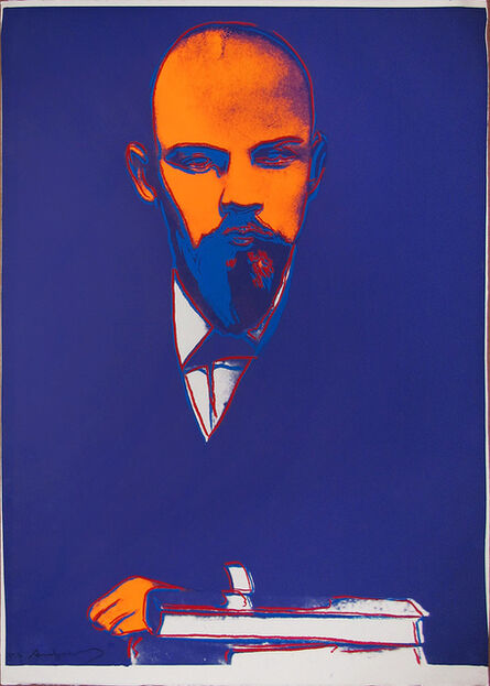 Andy Warhol, 'Lenin 402 Trial Proof (FS IIB.402)', 1987