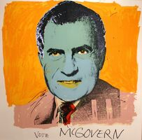 Andy Warhol, 'Vote McGovern (FS II.84)', 1972
