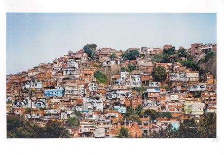 JR, '28 MILLIMÈTRES, WOMEN ARE HEROES, ACTION DANS LA FAVELA MORRO DA PROVIDENCIA, ESCALIER, RIO DE JANEIRO, 2008', 2008