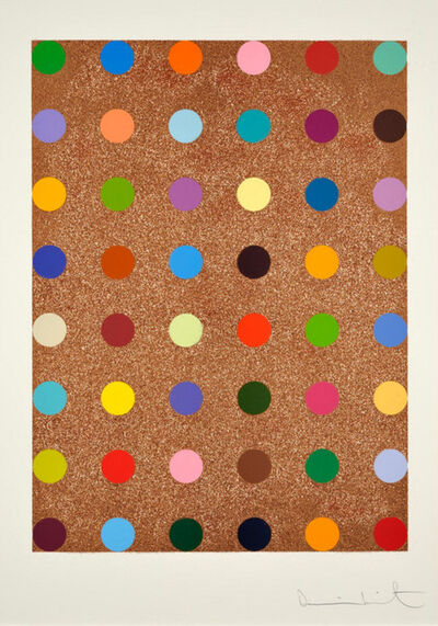 Damien Hirst, 'Damien Hirst, Carvacrol (with Bronze Glitter)', 2008