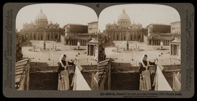 Bert Underwood, 'St. Peter's Church and the Vatican', 1900