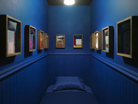 Elaine Reichek, 'The Artist's Bedroom', 1979