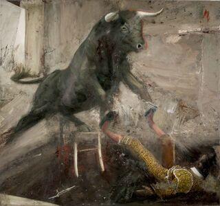 Nicola Pucci, 'Toro Sedia e Torero', 2017