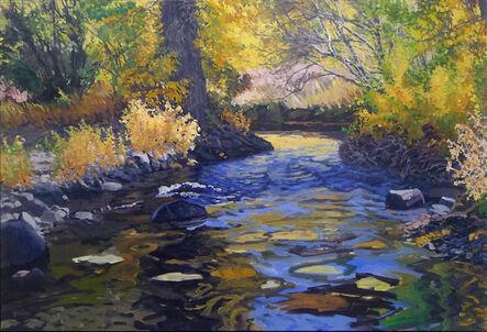 Sheila Gardner, 'Sky in the Creek (Bigwood, Fox Creek)', 2004