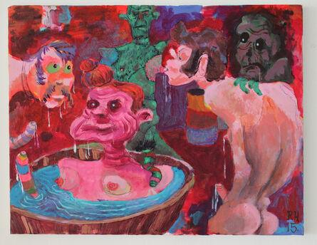 Richard Hawkins, 'Frankentittie', 2015