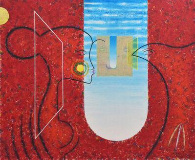Anton Cetín, 'Razmišljanje o onostranom svijetu I', 1996
