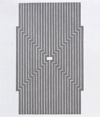 Frank Stella, 'Aluminum', 1970