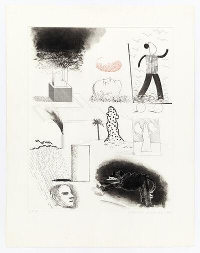 David Hockney, 'Showing Maurice the Sugar Lift', 1974