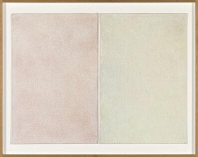 Goran Trbuljak, 'Noir de 8 tableaux de 5 artistes Ib Noir de10 tableaux de 8 artistes,', 1991
