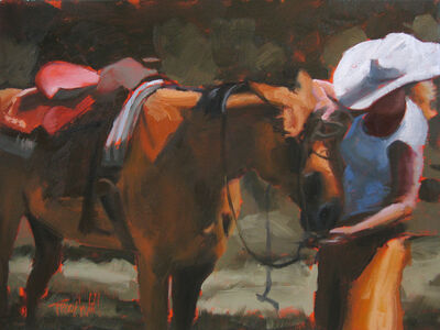 Tracy Wall, 'She's Unbridled', 2014
