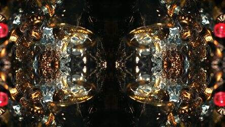 Naoko Tosa, 'Organic Geometry 2 -reflection-', 2015